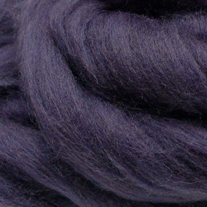 100g Aubergine Merino Wool Tops for felting & giant knitting