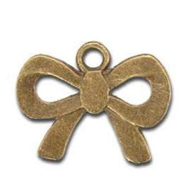 Bow Charm Gold