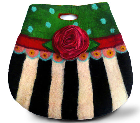 Burlesque Betty Felting Bag Kit