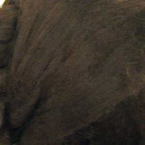 100g Chocolate Brown Merino wool tops for felting & knitting