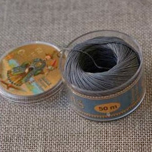 Linen Thread Dark Grey