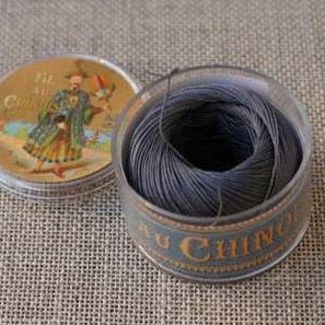 Linen Thread Very Dark Grey