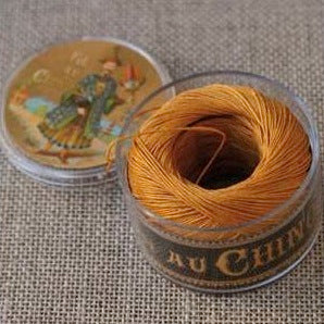 Linen Thread Golden Yellow