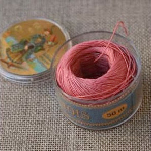 Linen Thread Old Pink