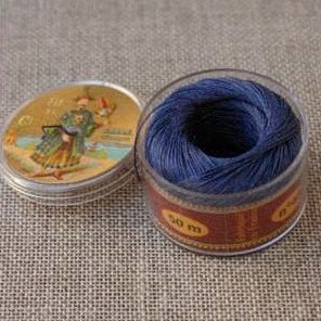 Linen Thread Royal Blue