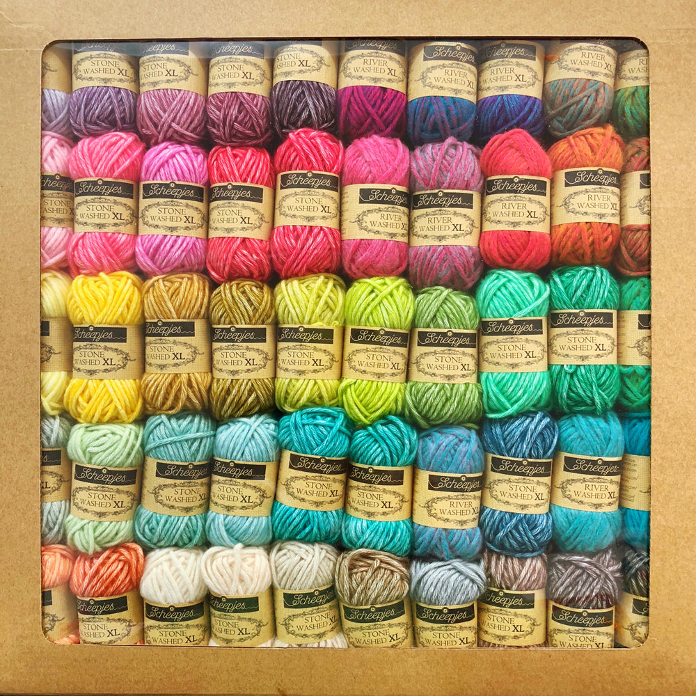 Stonewashed Riverwashed XL Colour Pack 50 x 15g