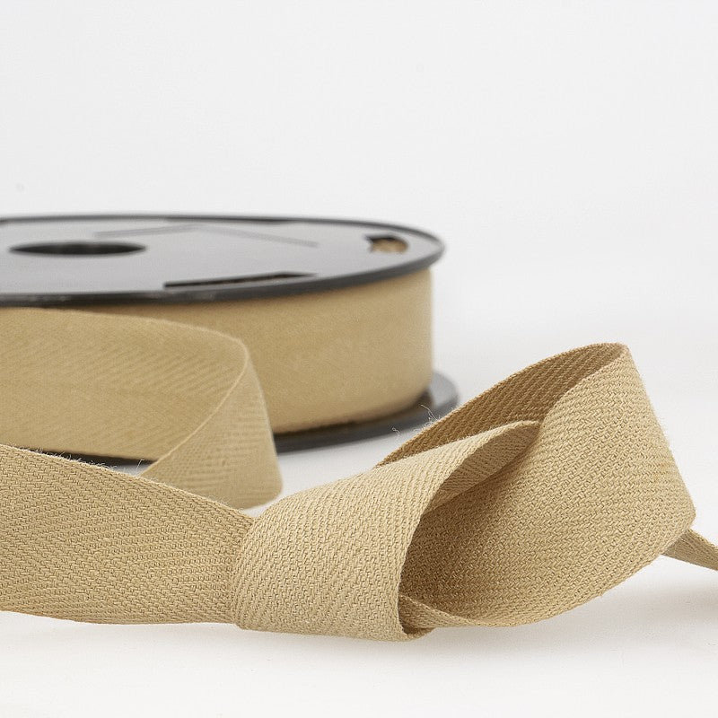 Cotton Twill Tape 041 Beige Per Metre