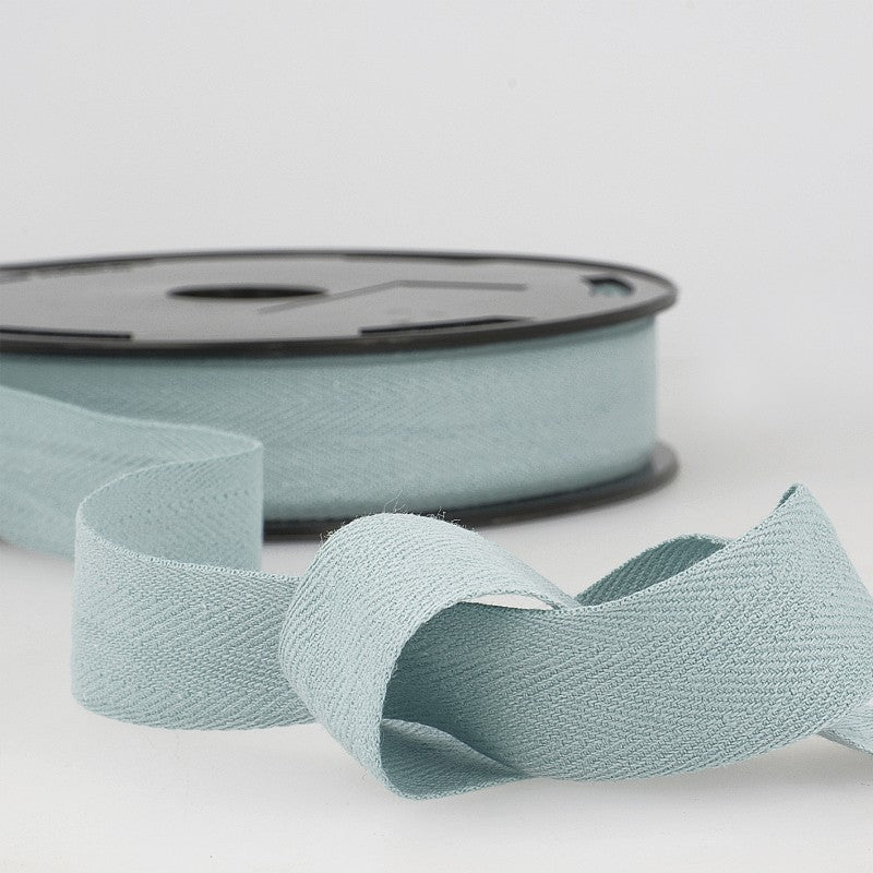 Cotton Twill Tape 002 Sky Blue Per Metre