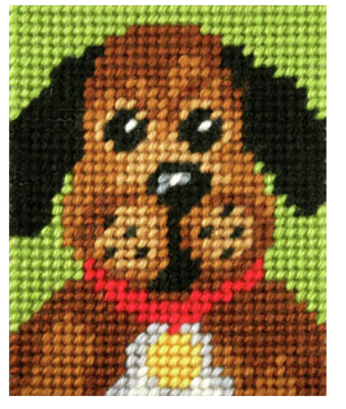 Kids Embroidery Kit - Doggie