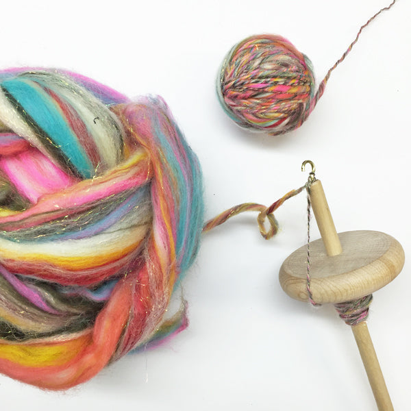 Drop Spindle - Hand Turned for Hand Spinning