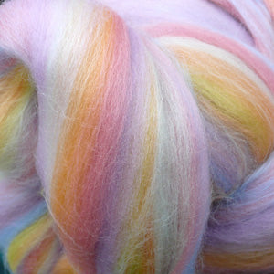 Ethereal Ether blended wool tops for felting & spinning 100g