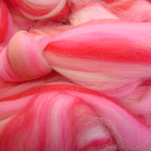 Fairy Floss Fantasia blended wool tops for felting
