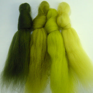 Gardeners World merino wool tops inspiration pack for felting