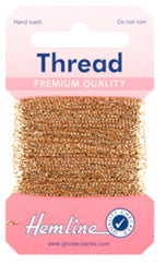 Glitter Thread Gold