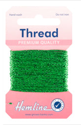 Glitter Thread green