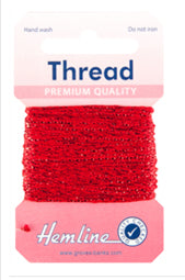 Glitter Thread Red