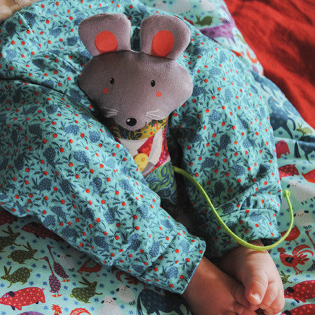 Romeo Mouse Rattle Kit by Odile Bailloeul
