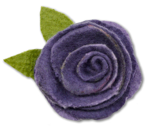 Mauve Marvelosity Rose Corsage Wet Felting Kit
