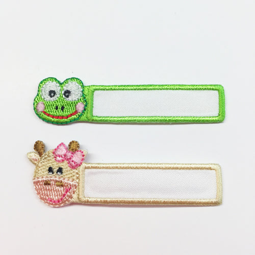 Animal Name Tag Frog