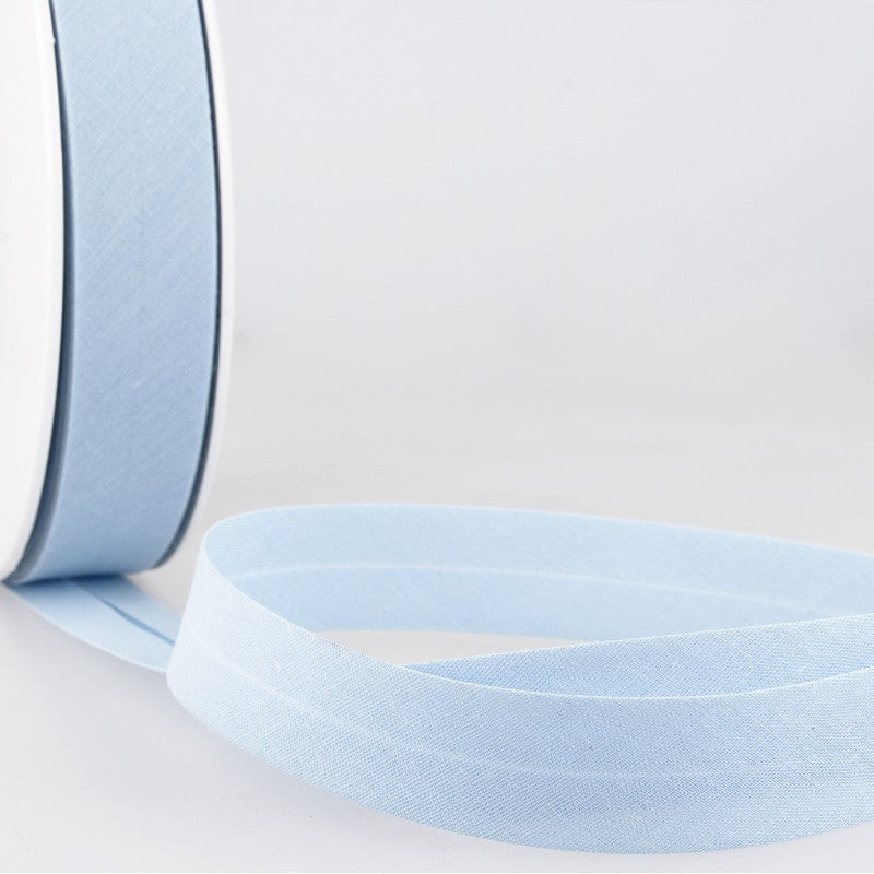 Bias Binding 2 - Pale Blue Per Metre 20mm
