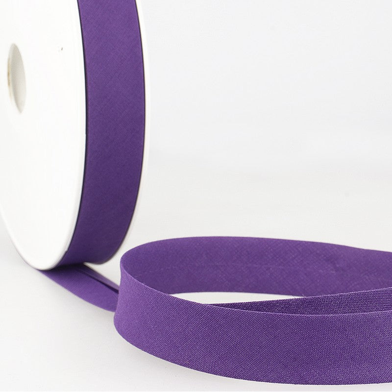 Bias Binding 96 purple per metre 20mm