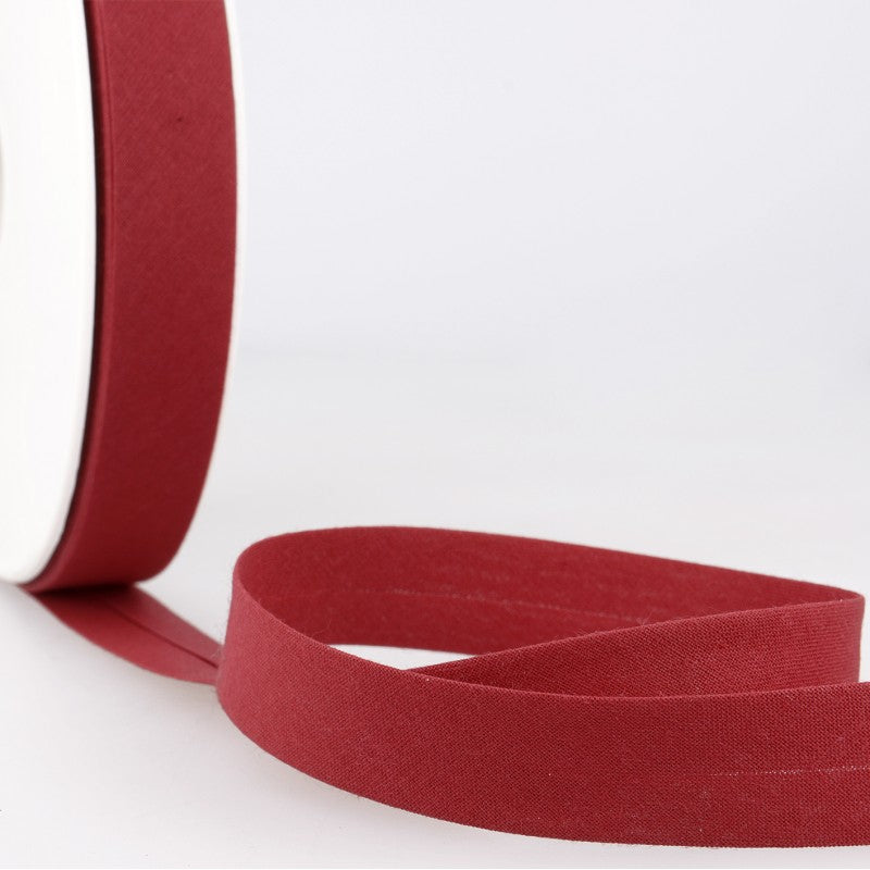 Bias Binding 171 Cherry Red Per Metre 20mm