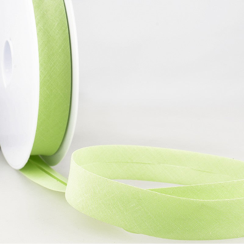 Bias Binding 10 Lime Green Per Metre 20mm