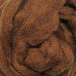 100g Sepia Merino wool tops for felting & giant knitting