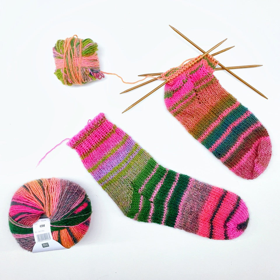 Learn to knit socks full day 6/10/19