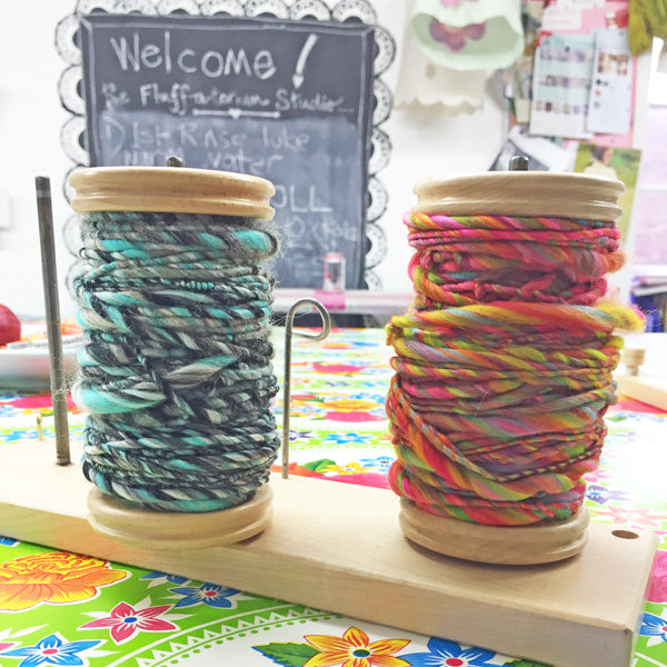 Learn to Spin Yarn : Full Day Private Workshop for 2 People