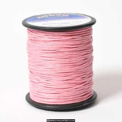 Waxed Cotton 1mm Pale Pink