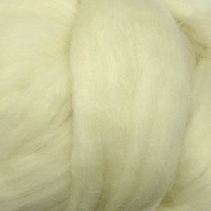 100g White Merino wool tops for felting & giant knitting