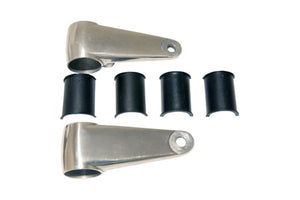 ALUMINUM HEADLIGHT MOUNTS