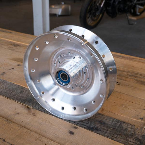 COGNITO MOTO BMW 2  VALVE BOXER SPOKE HUB CONVERSION  (REPLACES REAR DRUM)