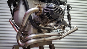 CUSTOM HANDMADE EXHAUST SYSTEM BY BOXER METAL