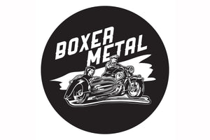 BOXER METAL LOGO DECAL