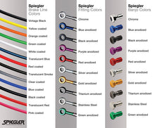 SPIEGLER STAINLESS STEEL BRAIDED BRAKE LINE KITS
