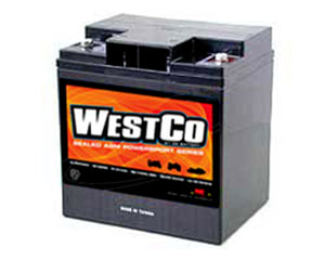 WESTCO 12V30 AGM BATTERY