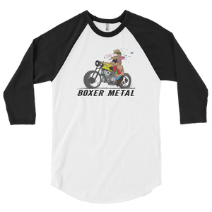 TWIN TURBO DRAGSTER 3/4 SLEEVE RAGLAN SHIRT