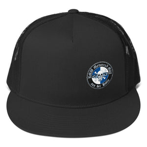 BMW BIKER SCUM EMBROIDERED TRUCKER HAT