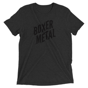 BOXER METAL UNISEX TEXT-T!