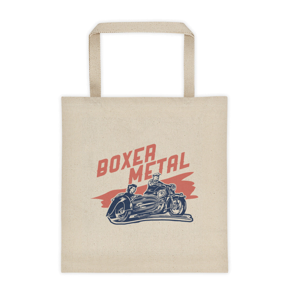 BOXER METAL LOGO TOTE BAG