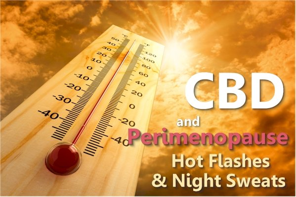 Can CBD Help WIth Night Sweats and Hot Flashes from Perimenopause