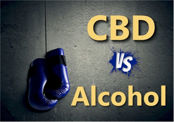 CBD versus Alcohol - Shared Pathways with Big Tolerance Differences