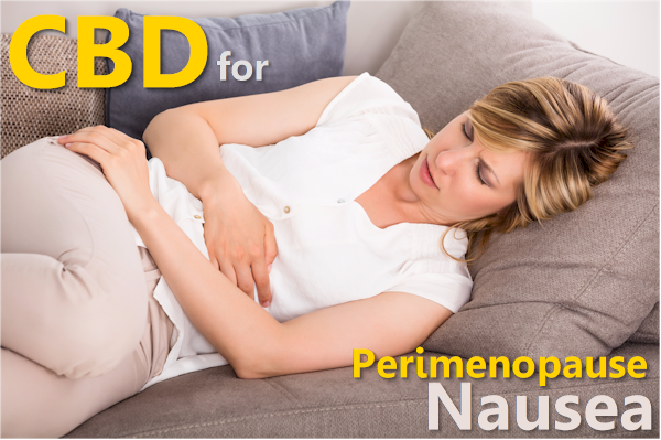 can cbd help with perimenopause nausea