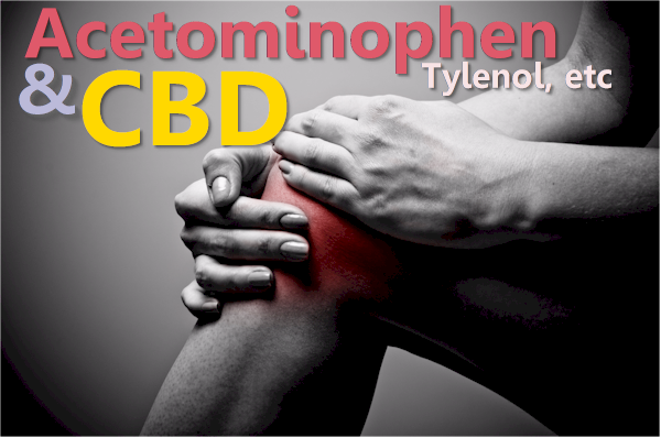 can you take cbd and tylenol