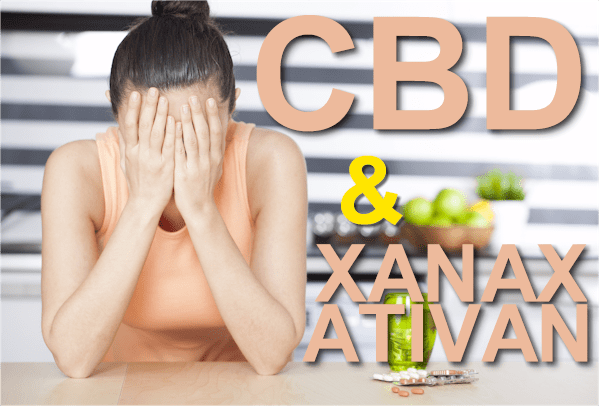 cbd and xanax or ativan withdrawal or replacement