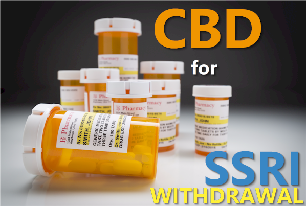 cbd for ssri withdrawal or syndrome