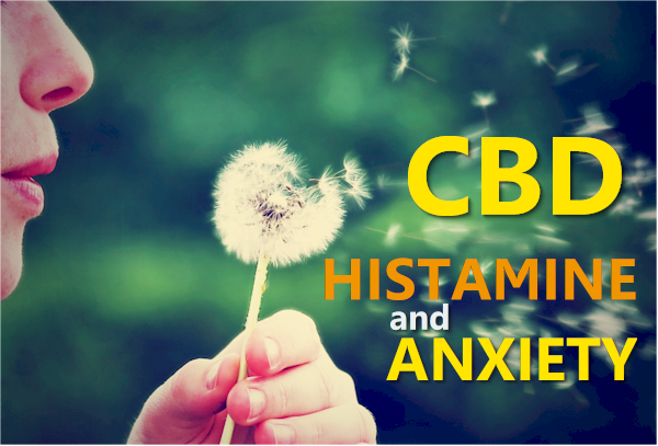 cbd histamines and anxiety