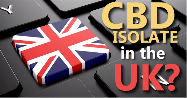 can you get CBD isolate with no THC in the UK
